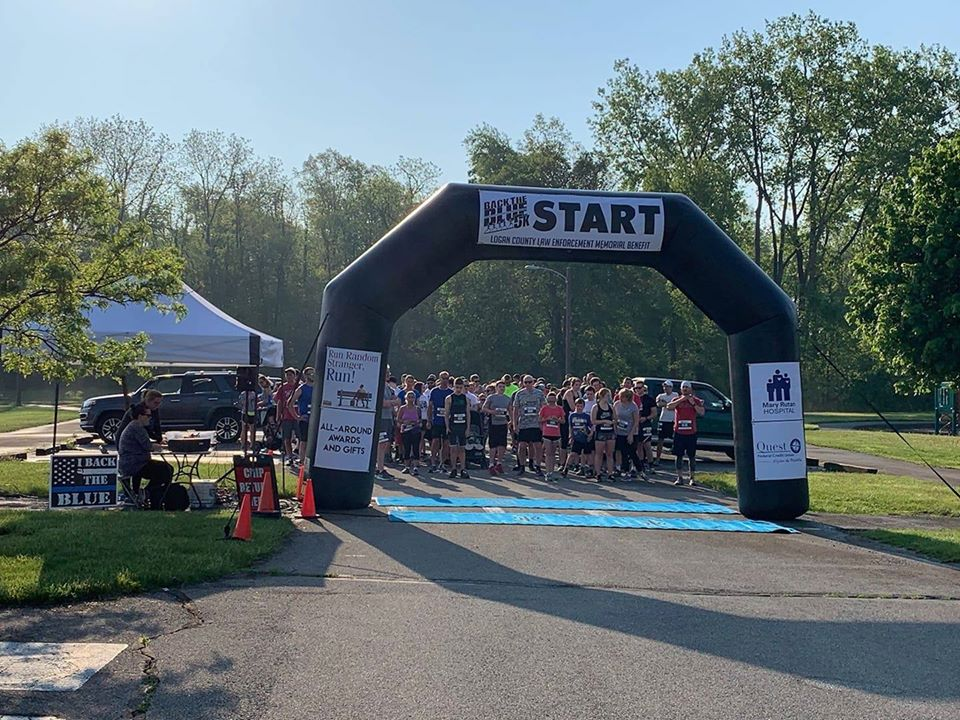 Bellefontaine Back the Blue 5K