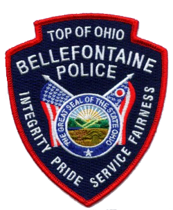 Bellefontaine Police badge