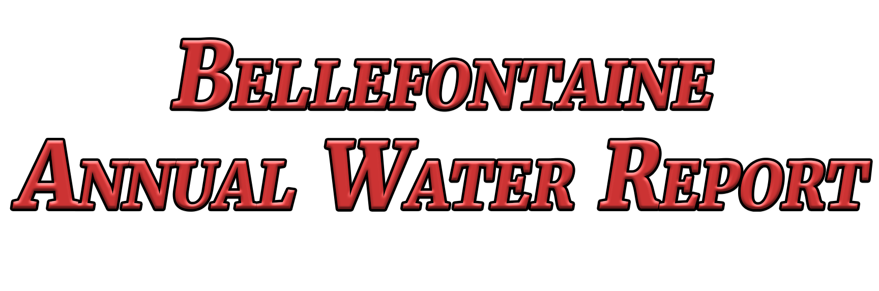 Bellefontaine Annual Water Report